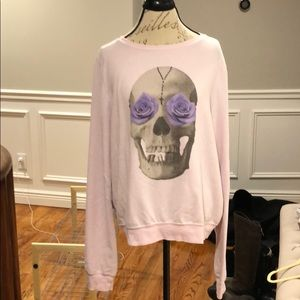 Wildfox Tops - WildFox skull sweatshirt